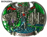 Camelot Castle Lady of the Lake Dragon Knight with display stand. Code BE4